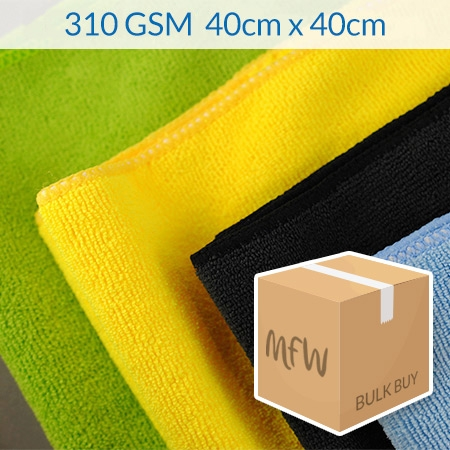 310gsm microfibre cloths pack of 200
